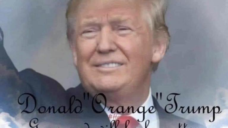 Donald Trump presidential obituary meme