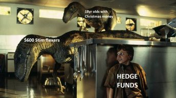 Gamestop hedge fund managers meme