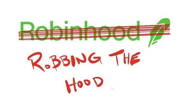 Robinhood robbing the hood meme