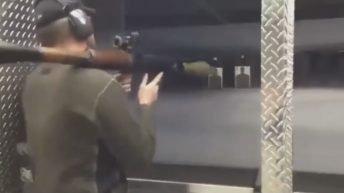 Shooting in a gun range gone wrong