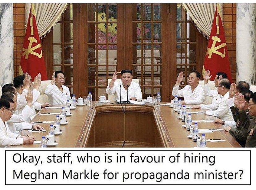 Kim Jong Un Meghan Markle meme