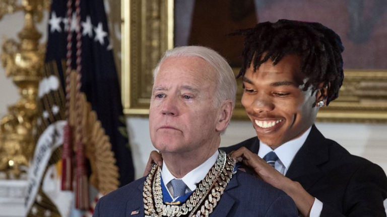 Moneybagg Joe Lil Baby Medal of Freedom meme