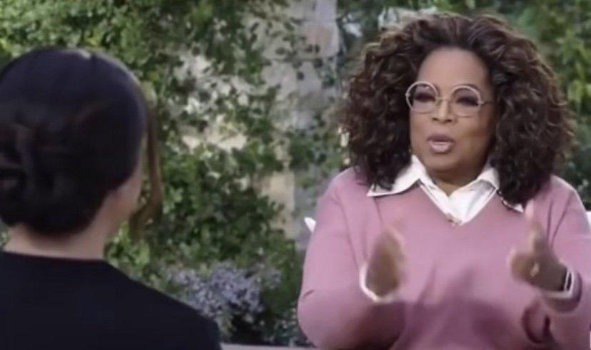 Meghan Markle unaired Oprah interview footage
