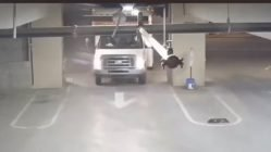 Getting U-Haul stuck in parking garage