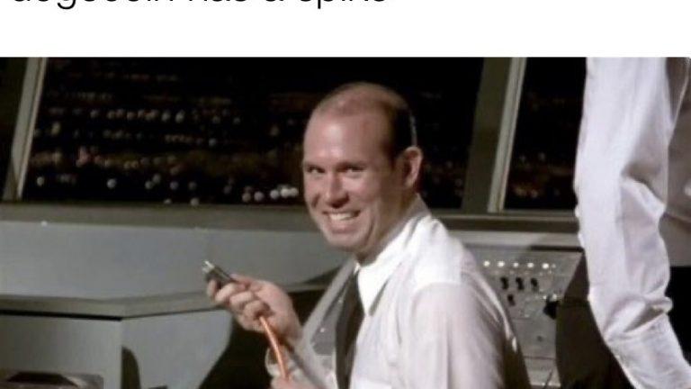 Robinhood employees every time dogecoin has a spike meme
