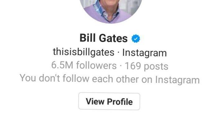 Bill Gates DM after divorce announcement