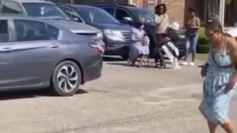 Woman twerks during church service