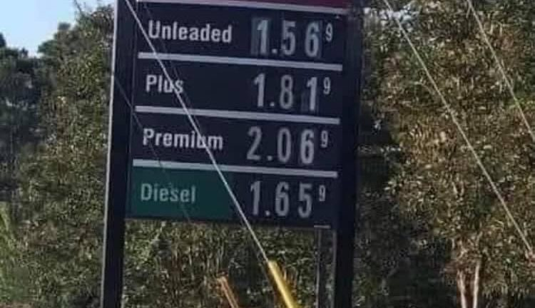 Back in the good ole' days 7 months ago high gas price meme