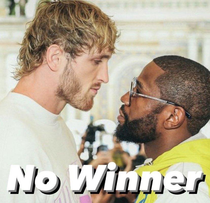 No winner from Logan Paul vs Floyd Mayweather boxing match