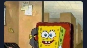 When you're an adult but you feel like a kid faking your way through life Spongebob Squarepants meme